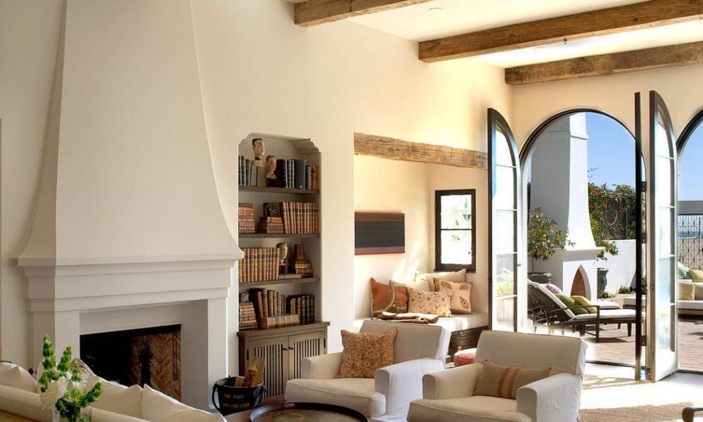 Dom w stylu śródziemnomorskim