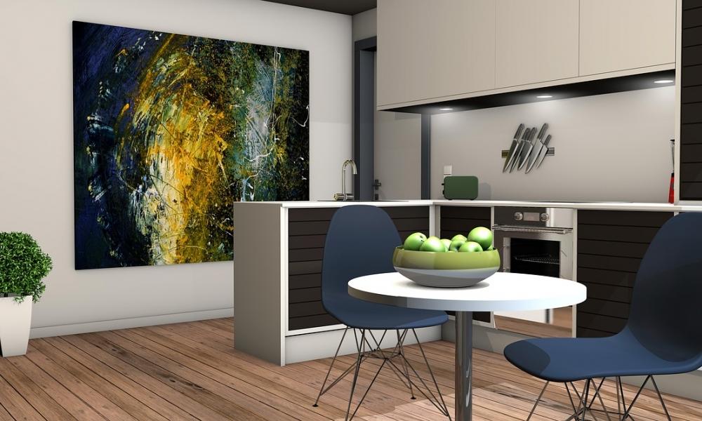 Projekt nowoczesnej kuchni - źródło: https://pixabay.com/