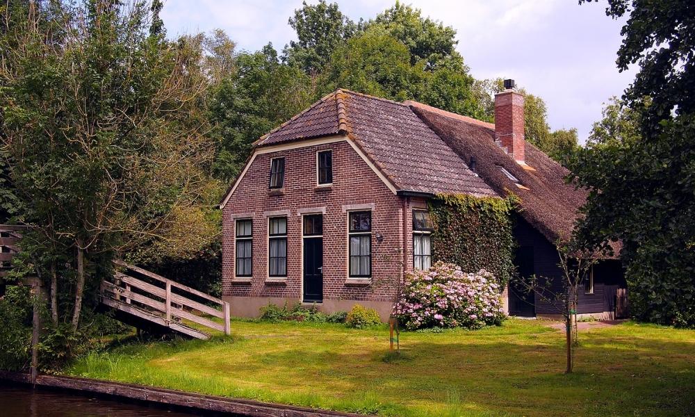 Dom na wsi - Holandia