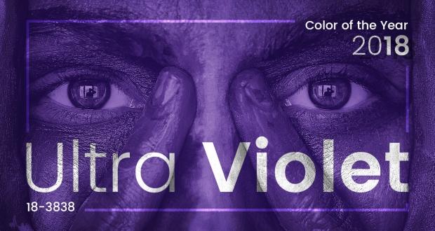 Kolor roku 2018 - Ultra Violet